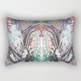 Psychedelic Positive Notes Mini Rectangular Pillow