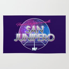 San Junipero - Black Mirror Rug
