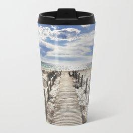 """""""To the beach..."""" Cabo de Gata Travel Mug"""
