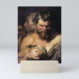 Peter Paul Rubens - Two Satyrs Mini Art Print
