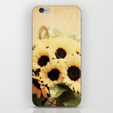 Sunflowers iPhone & iPod Skin