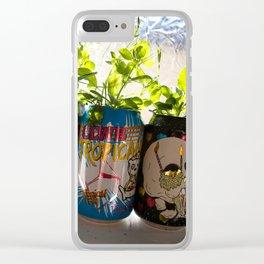 Crafty Pot Clear iPhone Case