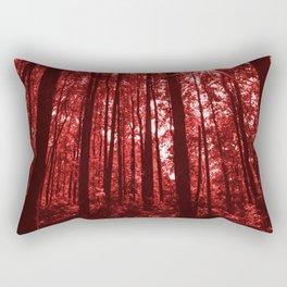 Shenandoah Red Rectangular Pillow