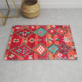 Epic Red Oriental Anthropologie Berber Atlas Moroccan Style Rug