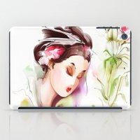 japanese iPad Cases featuring Japanese by tatiana-teni