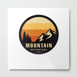 Climb Metal Print