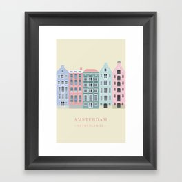Amsterdam, Netherlands Framed Art Print
