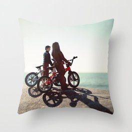 Chewy and Han Throw Pillow