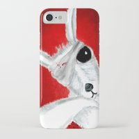 kangaroo iPhone & iPod Cases featuring Kangaroo by Soso Creation