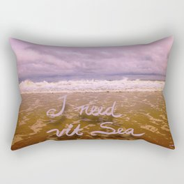 I need Vitamin Sea Rectangular Pillow