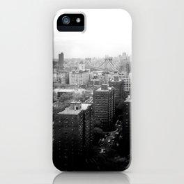 Brooklyn Black and White iPhone Case