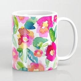 Hot Floral Mess Coffee Mug