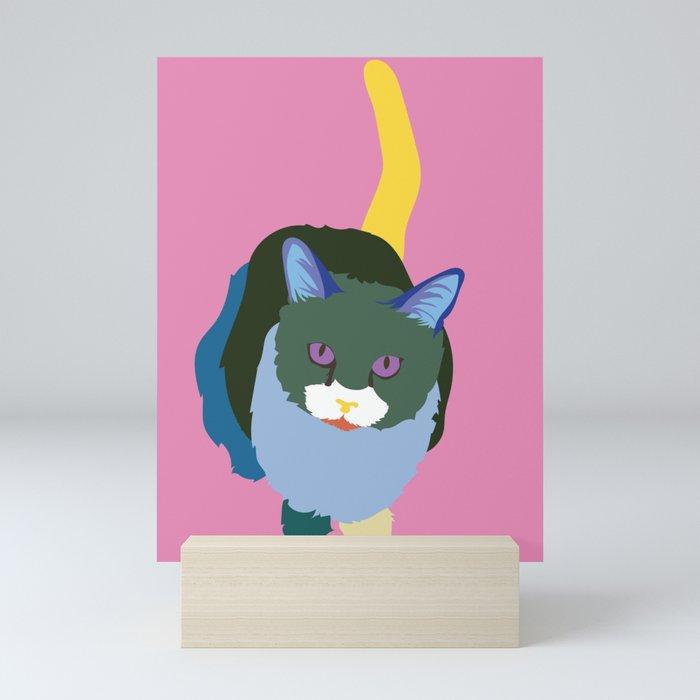 Cat No.2 Mini Art Print