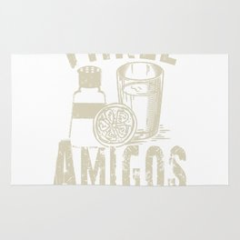 The Three Amigos Cocktail Novelty Drink Rug
