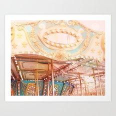 Carousel 2 Art Print