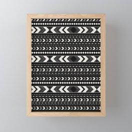 Tribal Arrow Boho Pattern #4 #aztec #decor #art #society6 Framed Mini Art Print