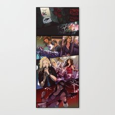 Band AU - The Grounders Canvas Print