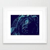 cyberpunk Framed Art Prints featuring CyberPunk by Giuseppe Cristiano