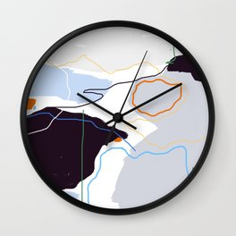 Forest IV Wall Clock