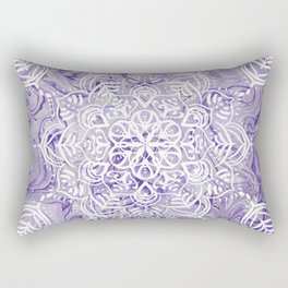 Marble Mandala Twist XI Rectangular Pillow