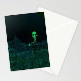 Aloft A Mountain [GREEN] Stationery Cards
