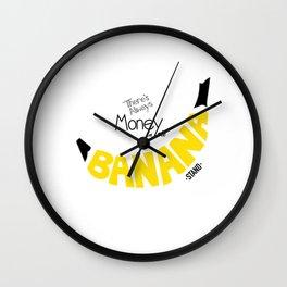 Banana Stand Wall Clock