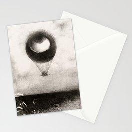 Olion Redon Eye Balloon Illustration Stationery Cards