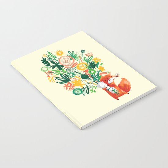 Flower Delivery Notebook
