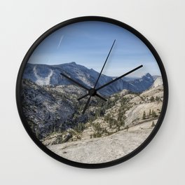 Olmsted Point Wall Clock
