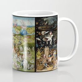 The Garden of Earthly Delights by Hieronymus Bosch (1490-1510) Coffee Mug