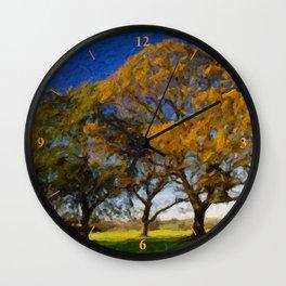 Shepton Trees Wall Clock