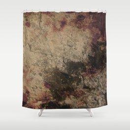 Grunge wall texture Shower Curtain