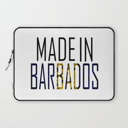 Made In Barbados Laptop Sleeve