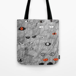 Eyes in the Dark by Chrissy Curtin Tote Bag