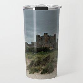 Bamburgh from the Beach Travel Mug