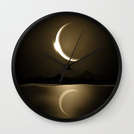 Divine Reflections Wall Clock