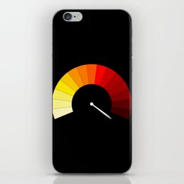 Blank In The Red iPhone Skin