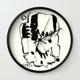 Everlasting Fight Wall Clock