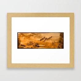 Journey of Australia Framed Art Print