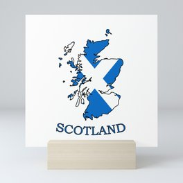 scotland-logo Mini Art Print