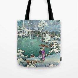 Ukiyo-e: Yuri on Ice Tote Bag