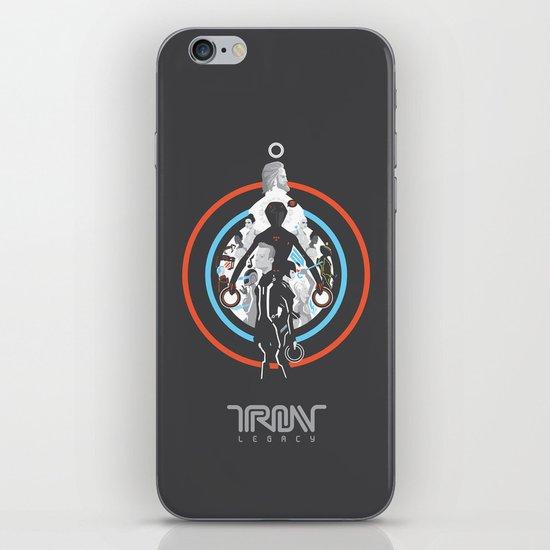Tron Legacy iPhone & iPod Skin