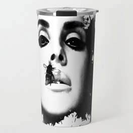 Watercolour effect print  Travel Mug