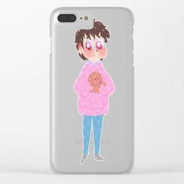 Yuuri Katsuki Clear iPhone Case