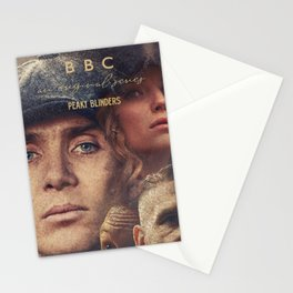 Peaky Blinders, Cillian Murphy, Thomas Shelby, BBC Tv series, Tom Hardy, Annabelle Wallis Stationery Cards