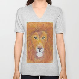 The Great Lion Unisex V-Neck