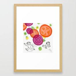 Beet It! Framed Art Print