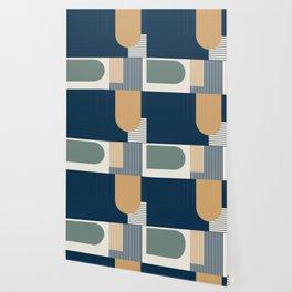 Cool Color Pallette Pattern Wallpaper