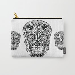 Zentangle - Sugar Skull  Carry-All Pouch