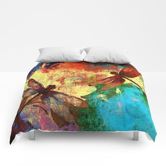 Dragonflies Comforters